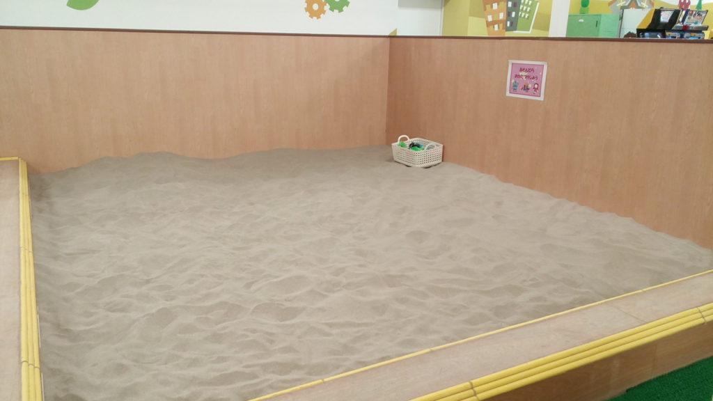 巨大な砂場