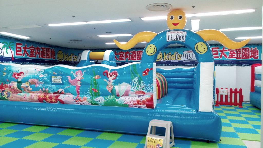 キッズUSランド上福岡子供の遊び場ふわふわ遊具