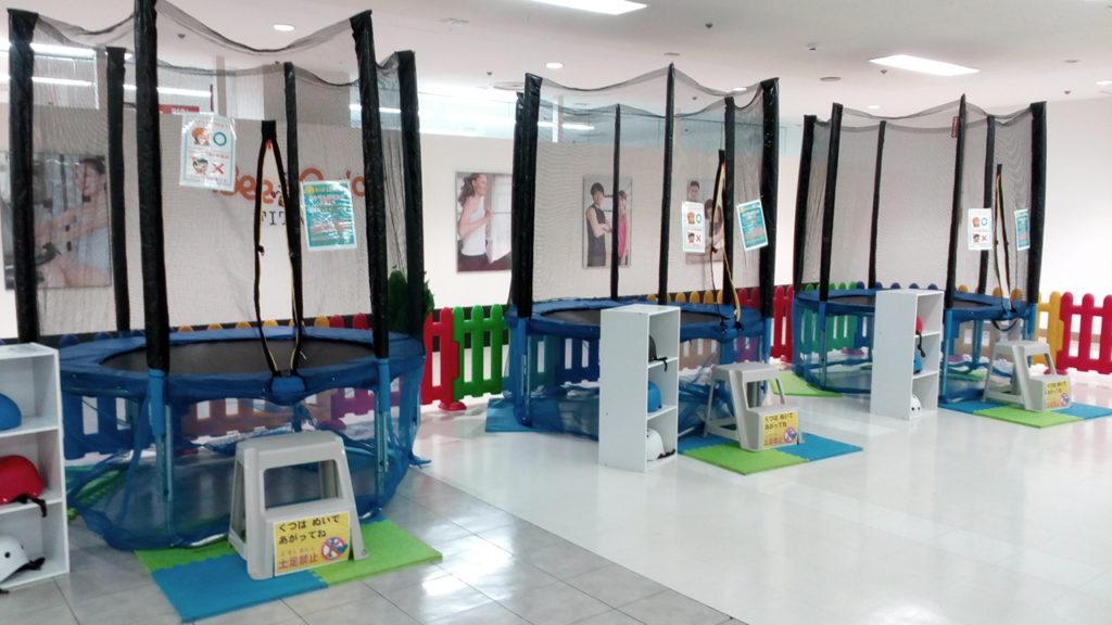 キッズUSランド上福岡子供の遊び場トランポリン