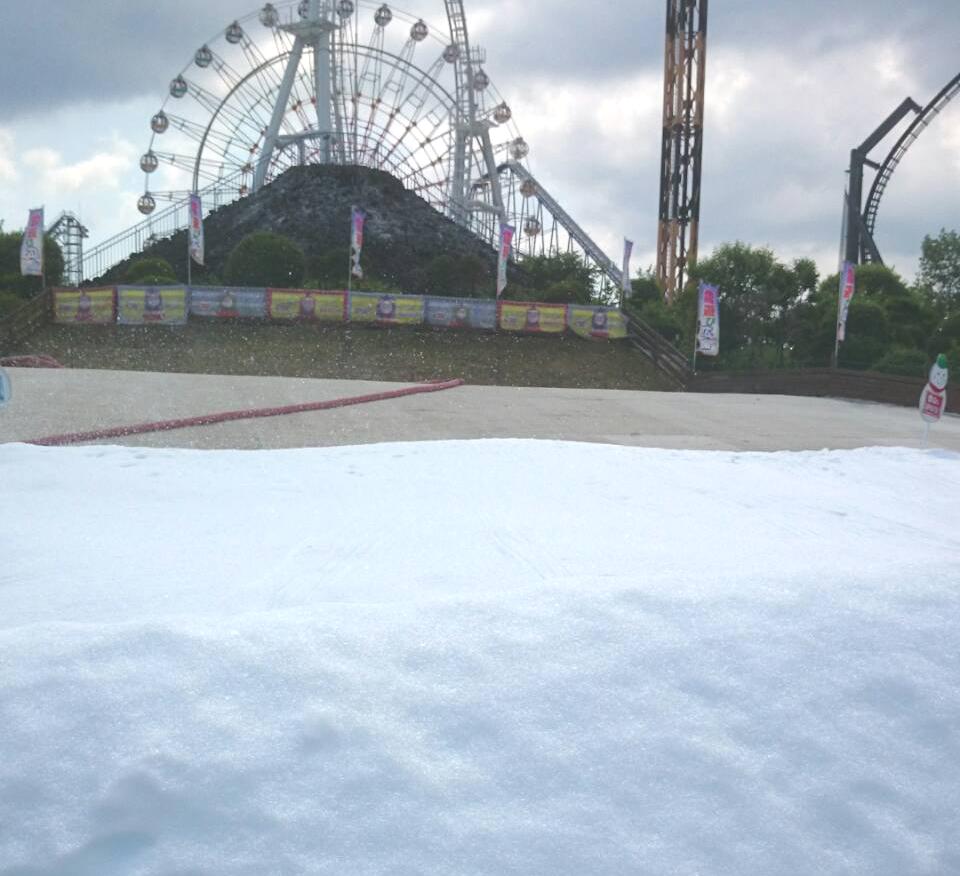 富士急ハイランド雪遊び夏の遊び場