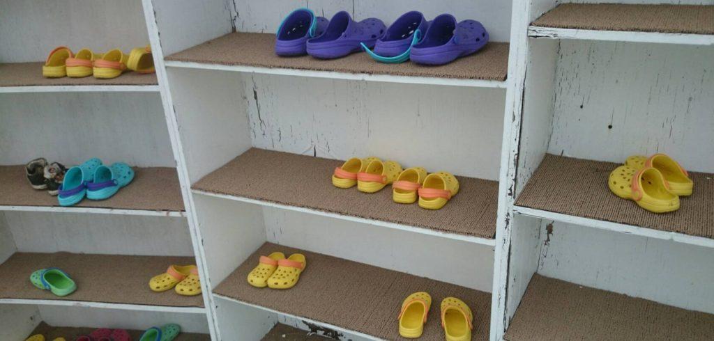 富士急ハイランドの雪遊びの靴