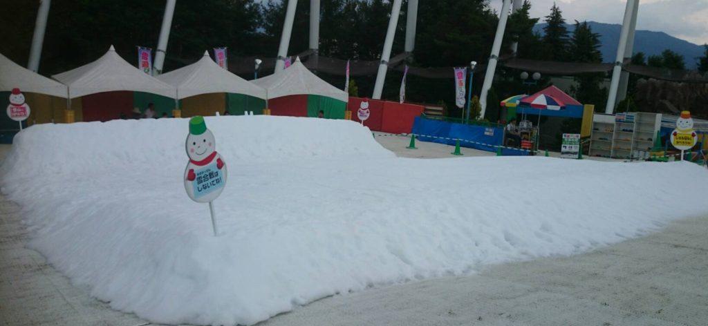 富士急雪遊び広場雪そりエリア
