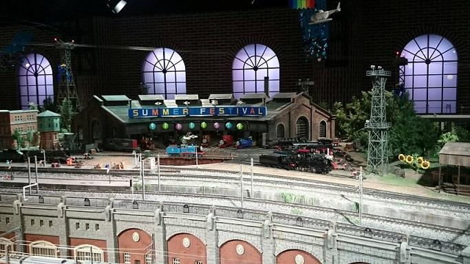 原鉄道博物館期間限定トーマス機関庫