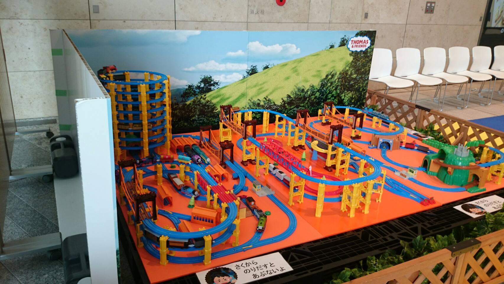 原鉄道博物館機関車トーマス展示