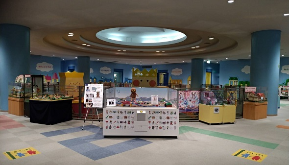 壬生町おもちゃ博物館遊具情報紹介2階フロア