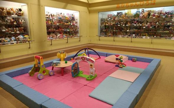 壬生町おもちゃ博物館赤ちゃんの遊び場