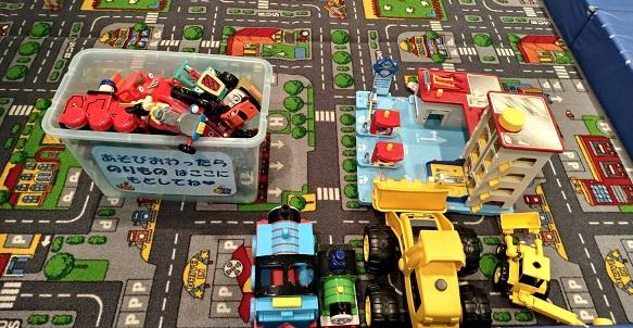 壬生町おもちゃ博物館トミカ車オモチャトーマス