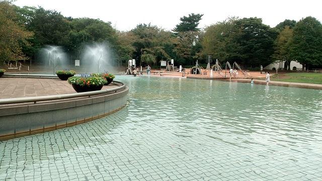 ふなばしアンデルセン公園水遊び場