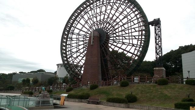 埼玉県川の博物館かわはく巨大な水車