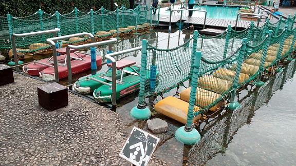 埼玉県川の博物館かわはく遊ぶ場所ふらふらフロート