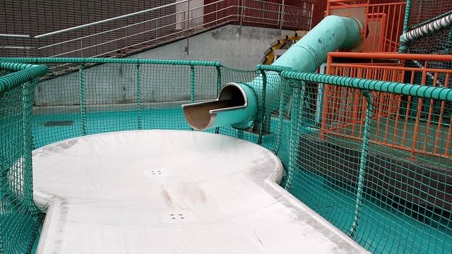 埼玉県川の博物館かわはく遊ぶ場所アスレチックネット滑り台
