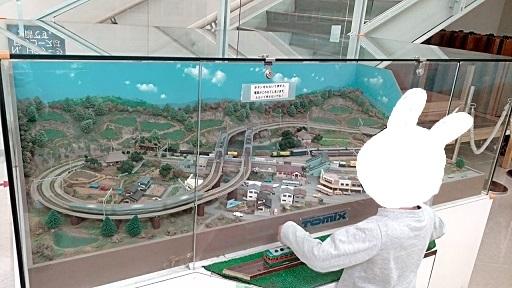 壬生町おもちゃ博物館別館Nゲージ電車