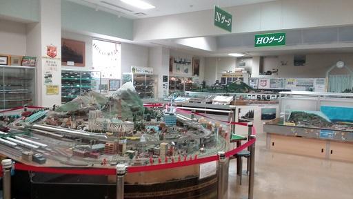 壬生町おもちゃ博物館別館Nゲージ電車鉄道模型の部屋
