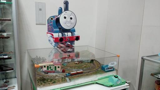 I壬生町おもちゃ博物館別館Nゲージ電車鉄道模型の部屋トーマス