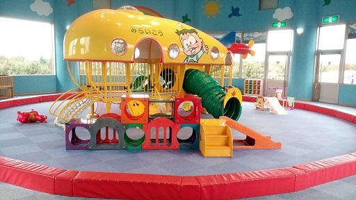 壬生町おもちゃ博物館赤ちゃんの遊び場そらの広場アスレチック遊具