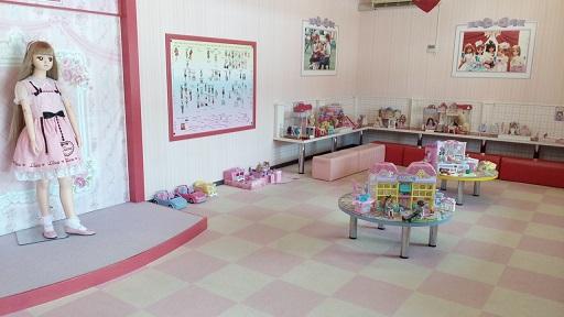軽井沢おもちゃ王国リカちゃん人形コーナー
