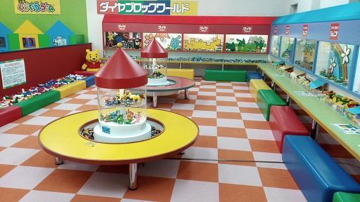 軽井沢おもちゃ王国のオモチャレゴ