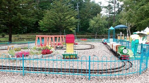 おもちゃ王国軽井沢機関車トーマスパーシーの乗り物