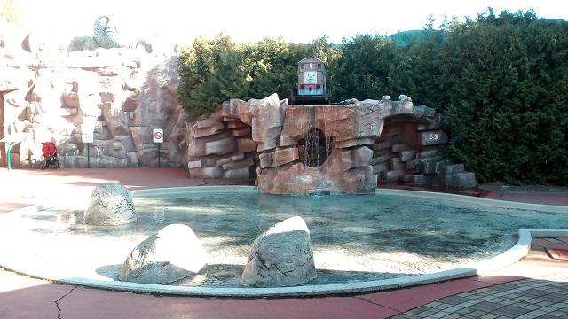 トーマスランド水遊び場