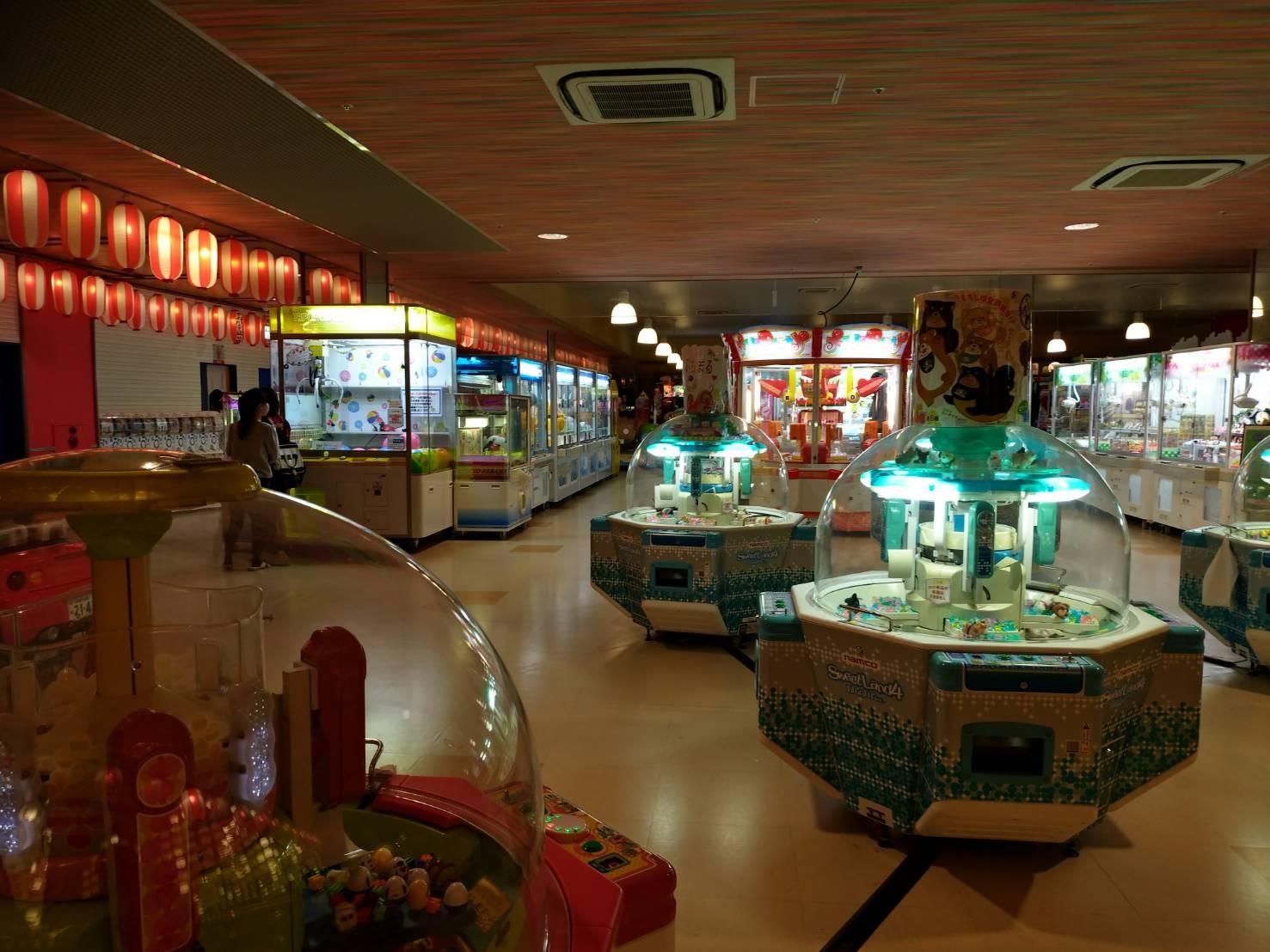 お祭りランド店内画像ゲームセンター