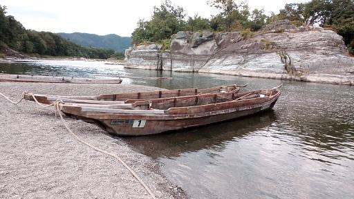 長瀞ライン下り 船