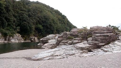 長瀞ライン下り 岩