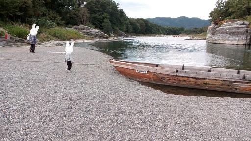 長瀞ライン下り 船のサイズ