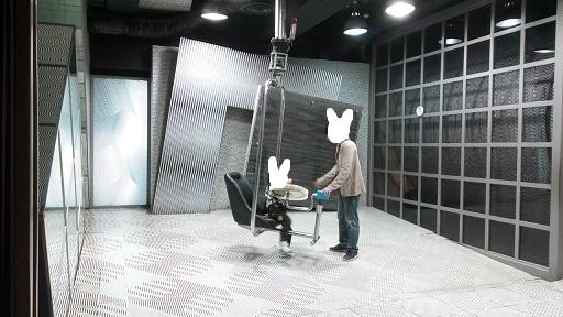 科学技術館錯覚