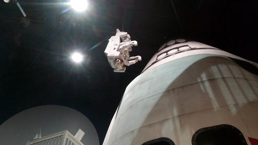 多摩六都科学館シャトル宇宙飛行士
