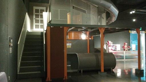多摩六都科学館水の流れ