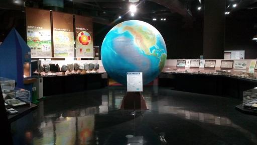 多摩六都科学館地球の部屋全体