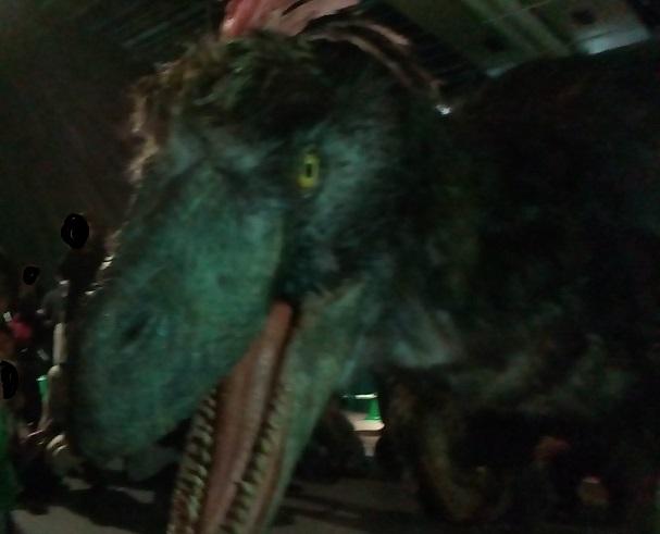未来科学館恐竜