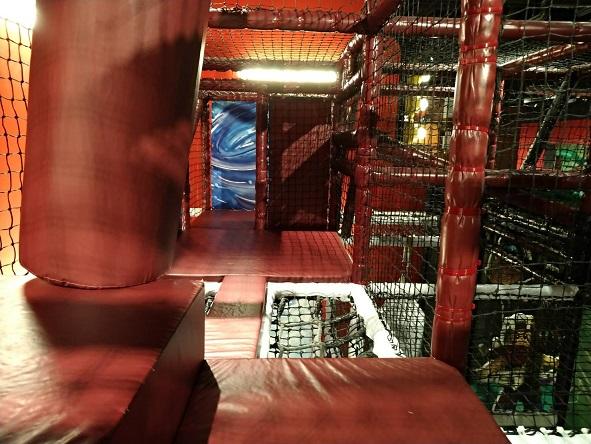レゴランドアスレチック内階段