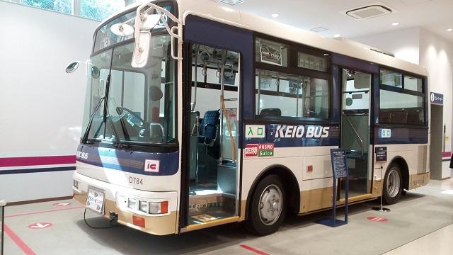 京王れーるランド1階バス
