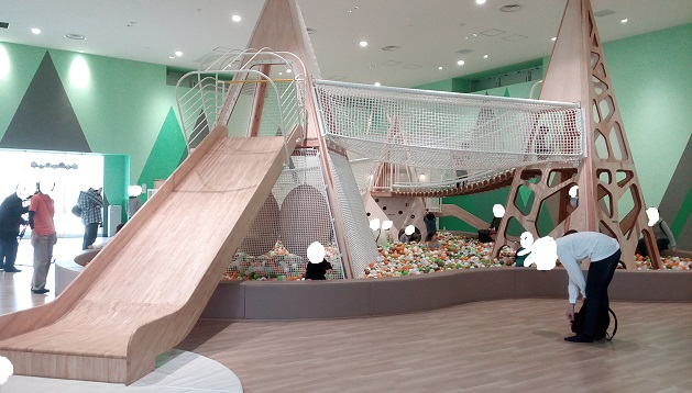 京王遊びの森ハグハグ巨大アスレチック