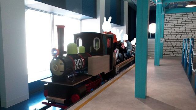 京王遊びの森ハグハグトレイン蒸気機関車