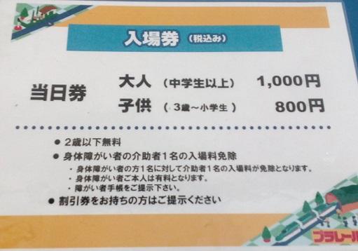 プラレール博TOKYO東京料金