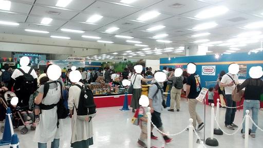 プラレール博TOKYO東京トーマスコーナー