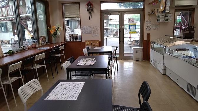 榎本牧場ショップ店内飲食