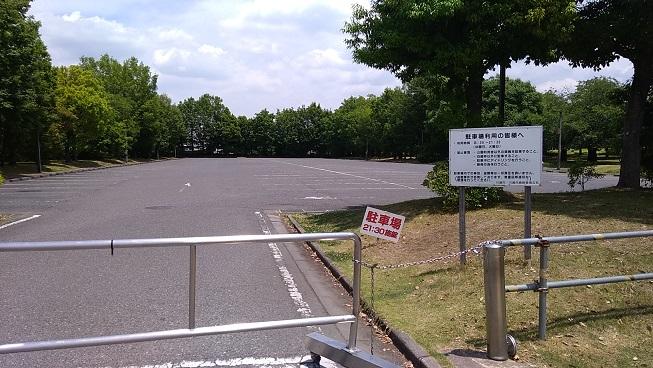 川越運動公園駐車場