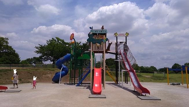 川越運動公園遊具