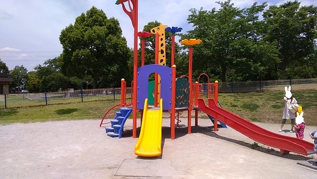 川越運動公園小さい子用遊具