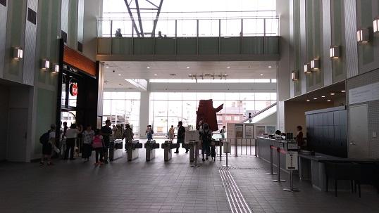 大宮鉄道博物館建物入り口