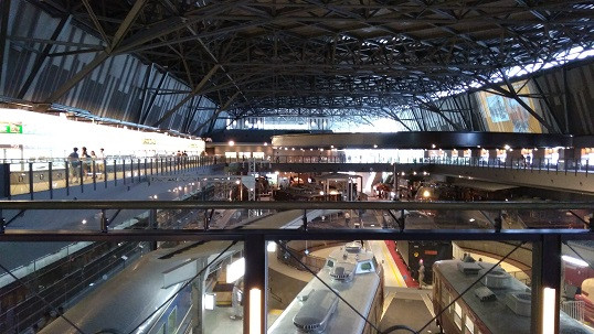 鉄道博物館2階フロア
