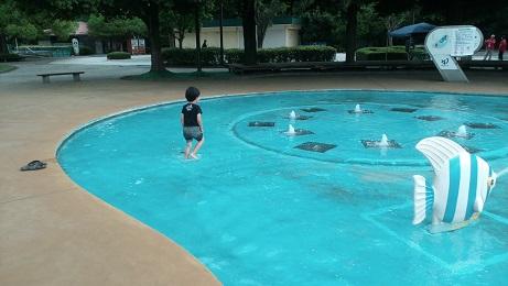 水遊び噴水プール