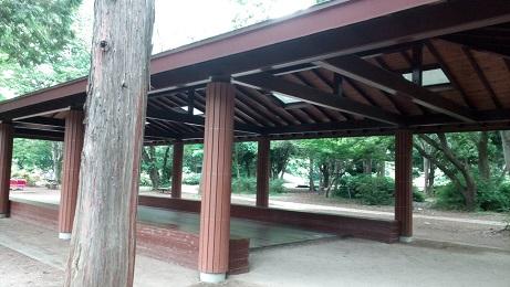 昭和記念公園休憩スペース