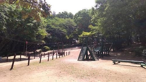 上尾丸山公園木製遊具