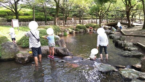 上尾丸山公園水遊び場