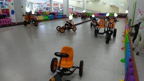 三輪車コーナー