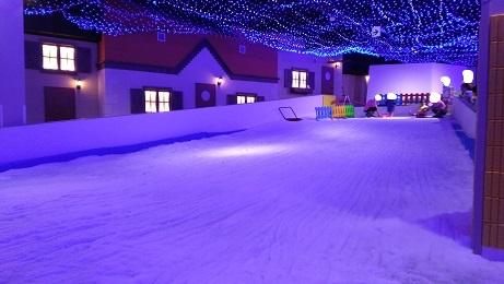 雪そりの場所